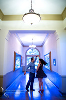 Engagement Photo at University of La Verne, Pamona, California by Temecula Wedding Photographer