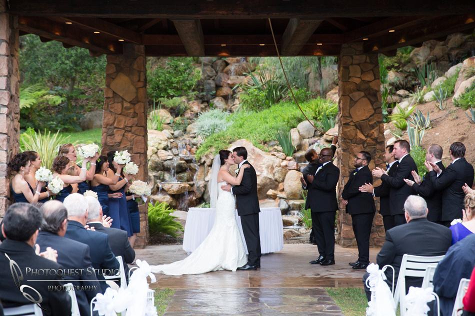 Wedding photo at Pala Mesa Resort Fallbrook by Temecula Wedding Photographer