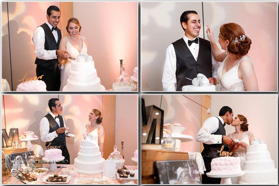 wedding cake by temecula wedding photographer