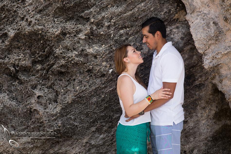 honeymoon photo in cancun mexico by temecula wedding photographer