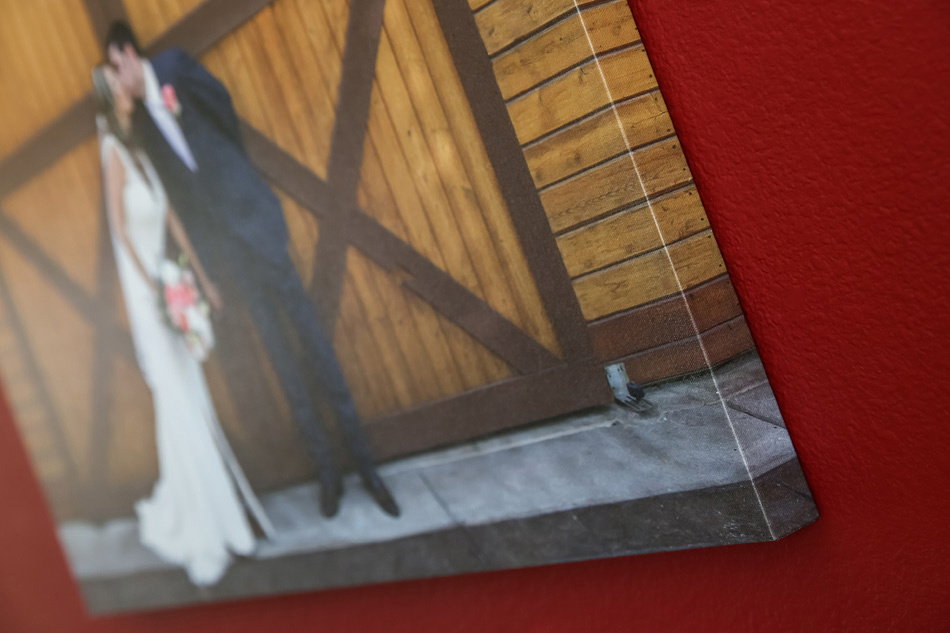 Custom Canvas at Pala Mesa Resort Fallbook wedding by Temecula Wedding Photographer