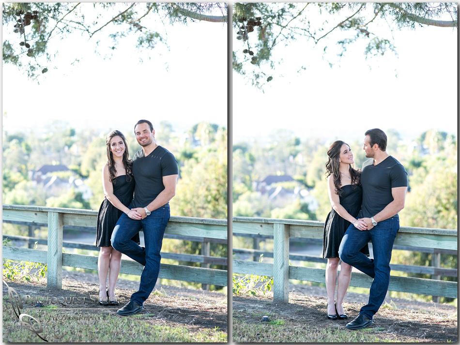 Outdoor Engagement Photo by Laguna Hill Wedding Photographer Vanessa and Art