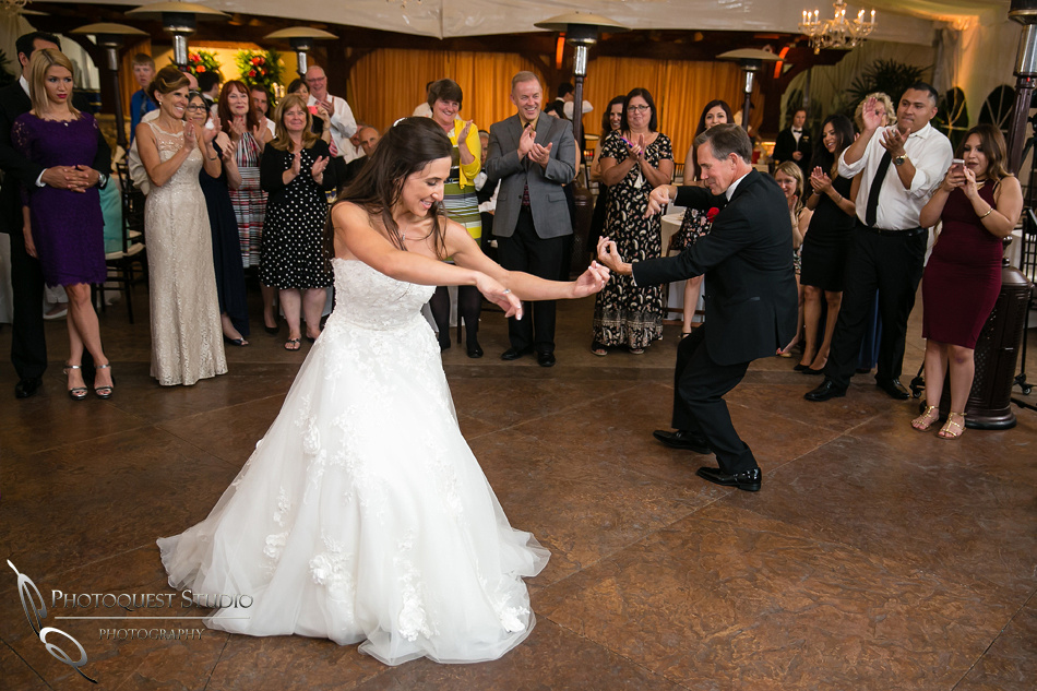 the violin battle at Grand Tradition Estate Fallbrook by Temecula Wedding Photographer