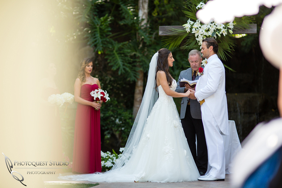 wedding ceremony at Grand Tradition Estate Fallbrook by Temecula Wedding Photographer