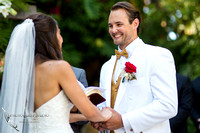 handsome groom at grand tradition fallbrook wedding