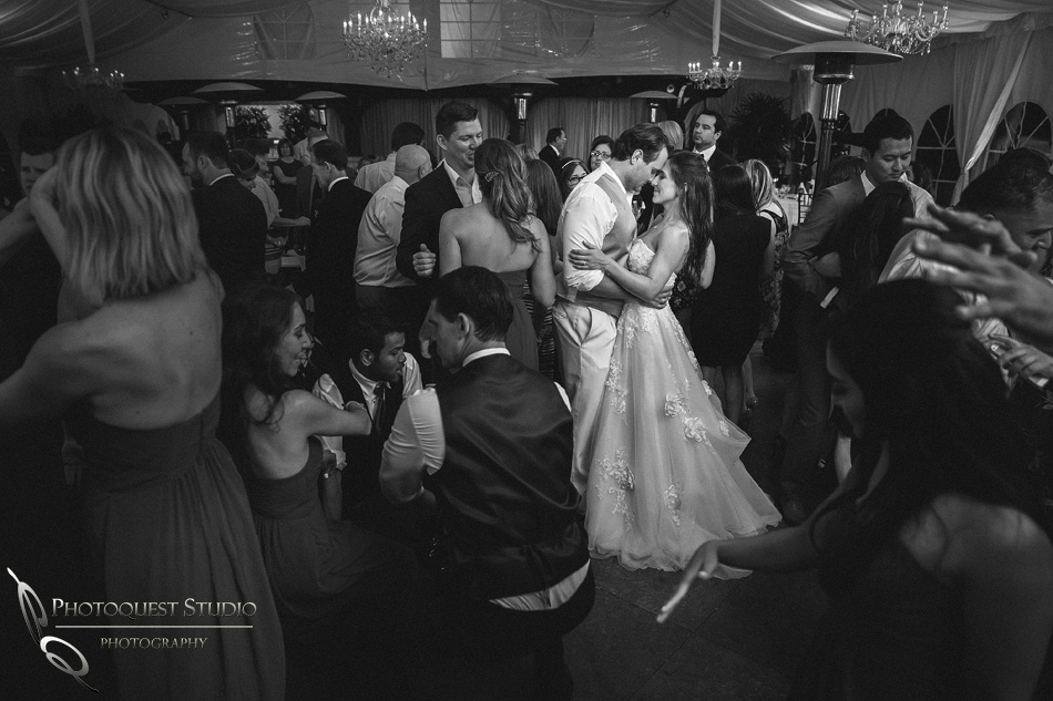 Just the two of us, Bride and Groom on the dance floor by Temecula Wedding Photographer
