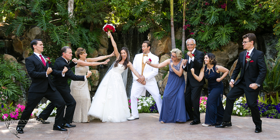 Fighting for the Bride at Grand Tradition Estate Fallbrook by Temecula Wedding Photographer