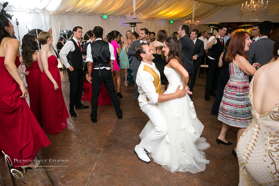 Bride and Groom dancing by Photoquest Studio, Photography