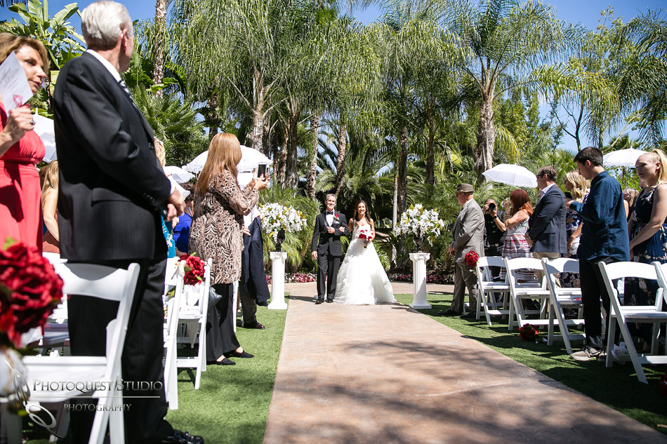 Disney princess wedding at Grand Tradition Estate Fallbrook by Temecula Wedding Photographer