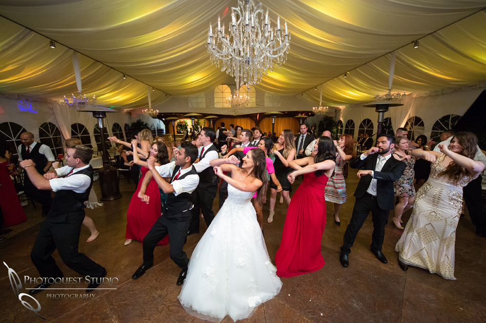 Dancing all night at Grand Tradition Estate Fallbrook by Temecula Wedding Photographer