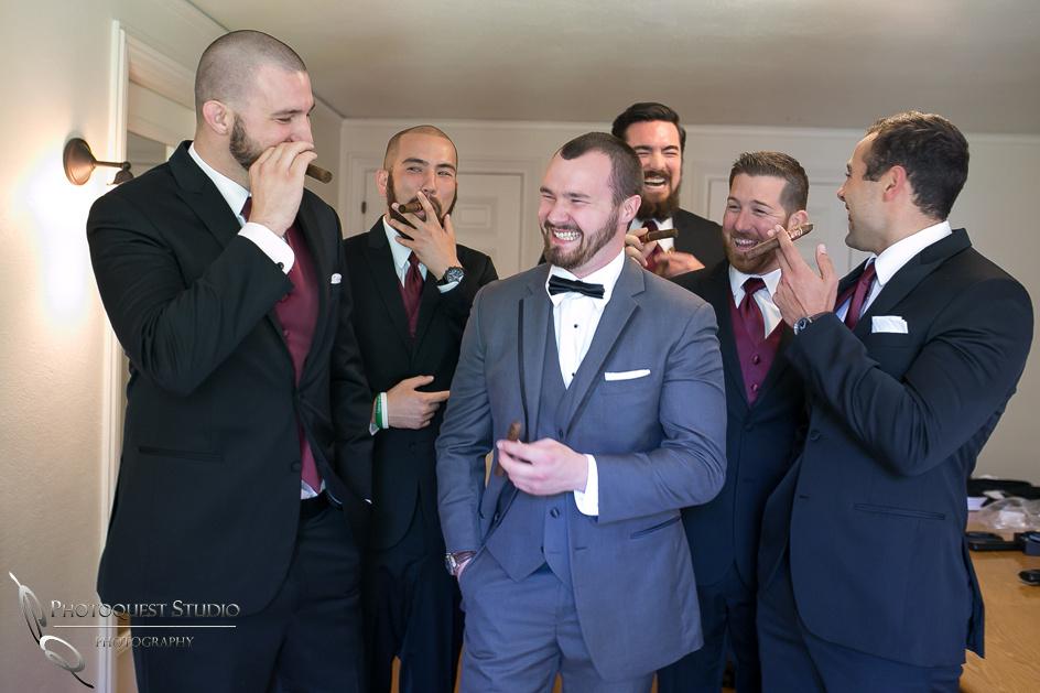 Groom and his Men, Temecula Photographer at Kellogg House Wedding