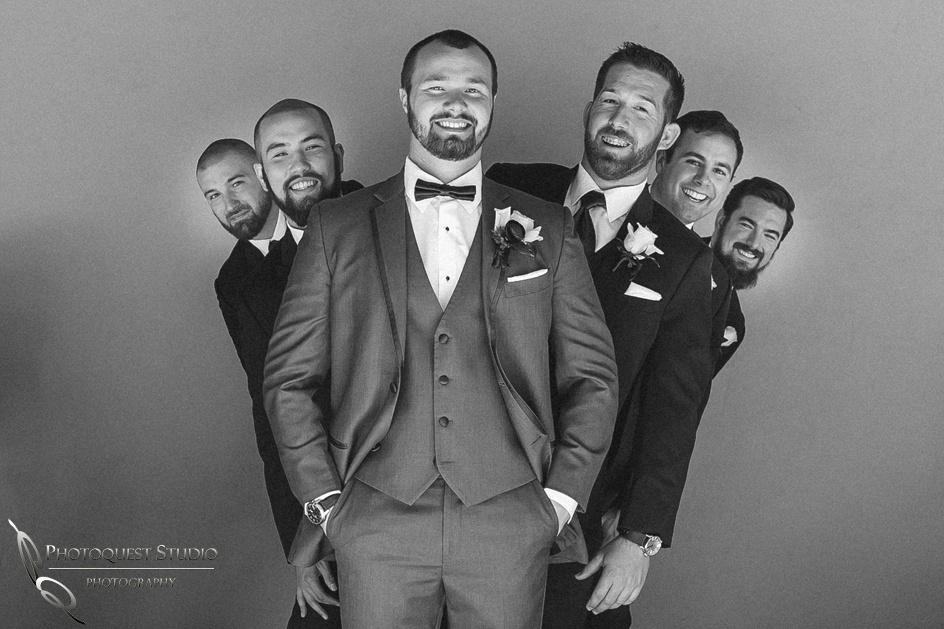 Groom and Groomsmen funny photo, Temecula Wedding Photographer