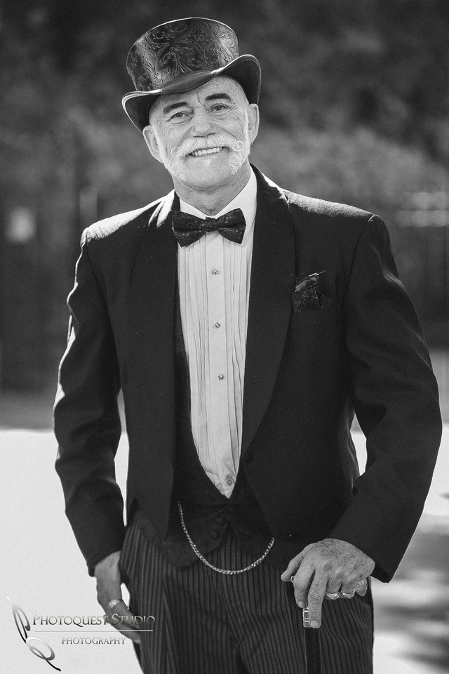 Cool looking Uncle, Temecula Photographer at Kellogg House Wedding