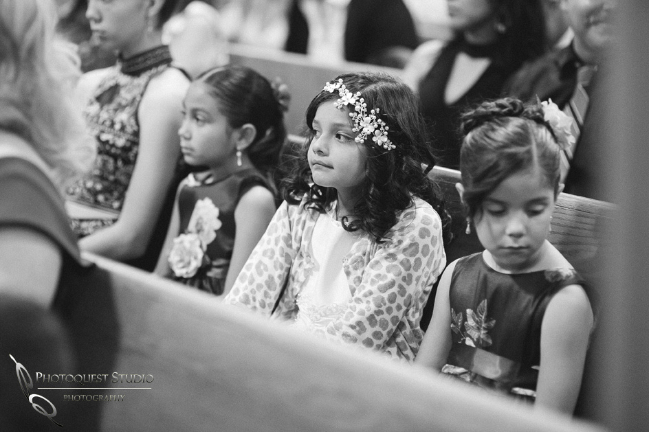 Wedding Photographer in Temecula, Riverside documented Mexican Traditional Church Wedding