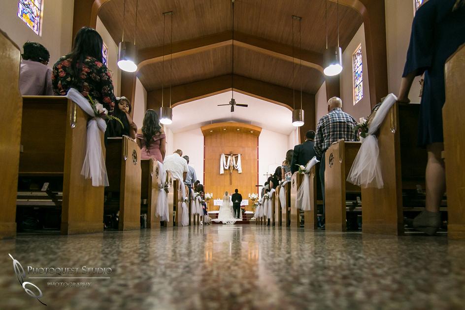 Riverside Wedding Photographers at  St Francis De Sales Catholic Church