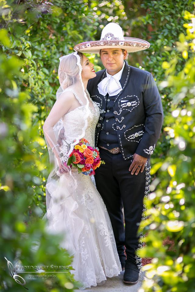 Beautiful Bride and her Vaquero, Temecula Wedding Photographer