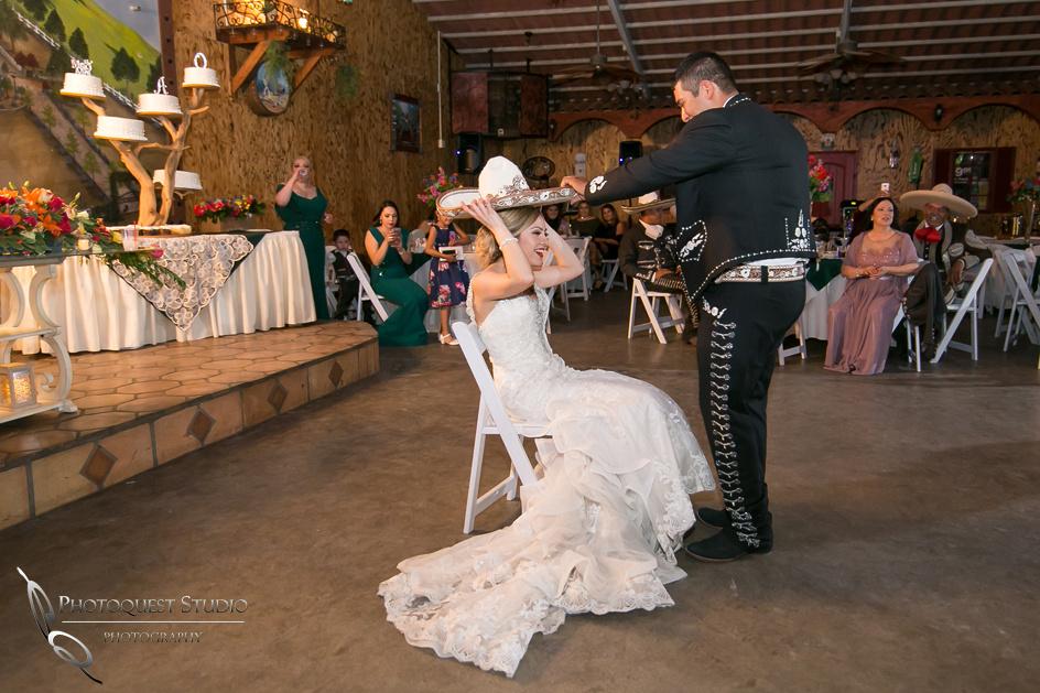 Cute moment, Temecula Wedding Photographer at Menifee, Rancho Los Agaves