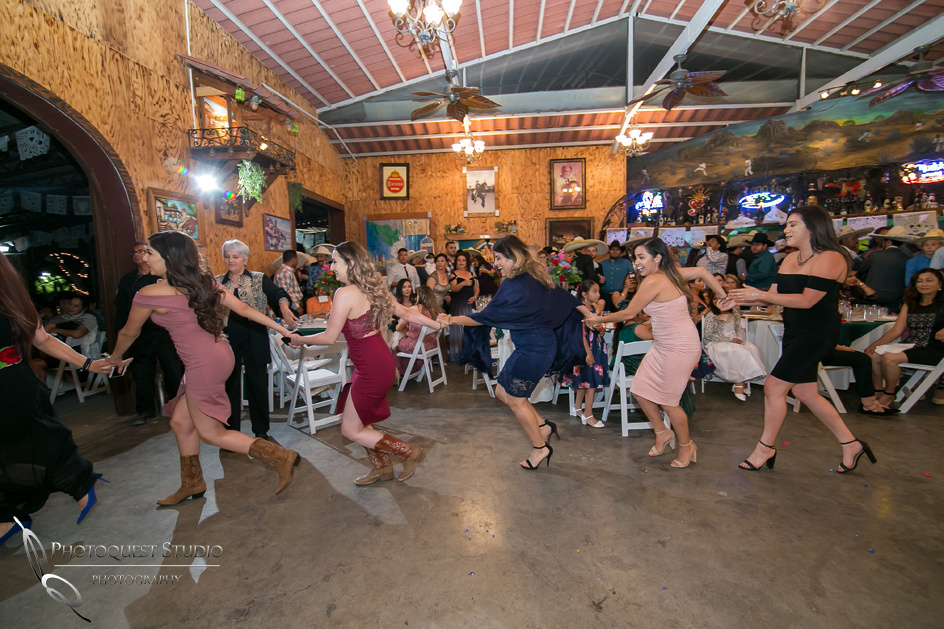 The Mexican traditional run at wedding by Menifee Wedding Photographer
