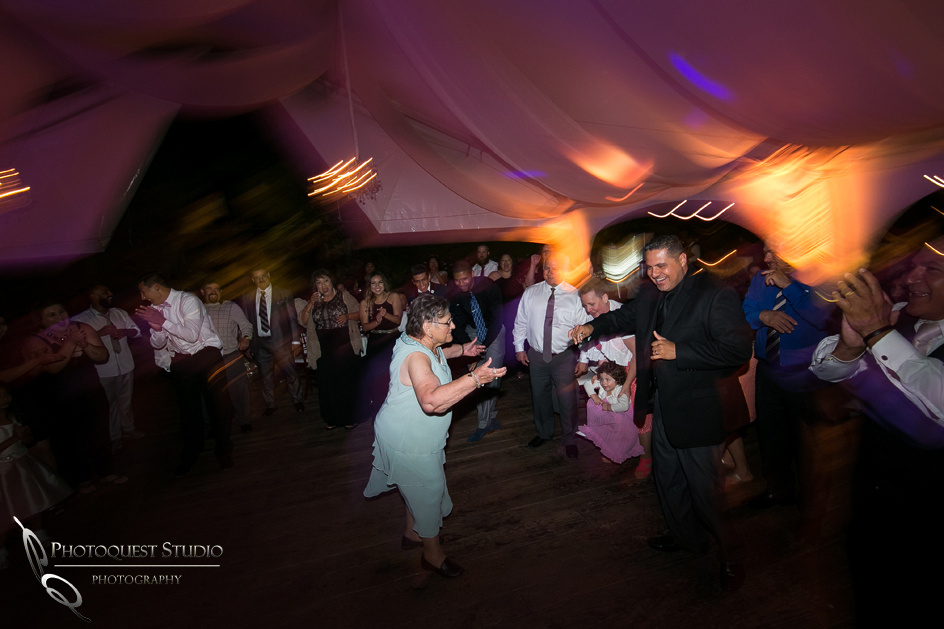 grandma on the dance floor