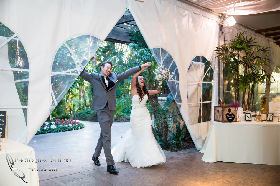 Party time. Wedding photos at Grand Tradition Estate Fallbrook by Wedding Photographer in Temecula