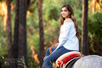 Temecula Wedding Photographer, soon to be Bride on horse back