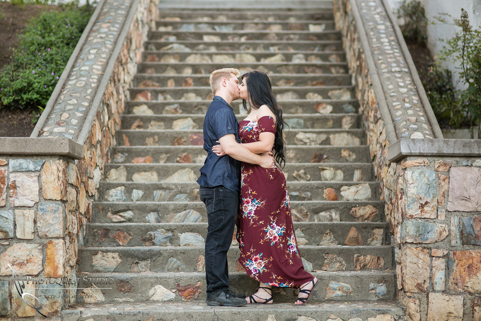 Temecula Wedding Photographer, Engagement Photo at Hillcrest Park