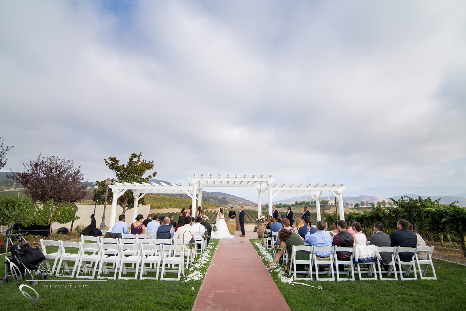 Wedding Photo at Leoness Cellars by Temecula Winery Photographer