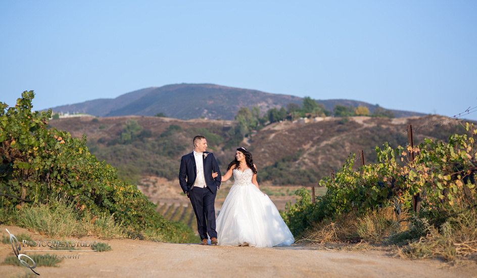 Wedding Photo by  Temecula Winery Photographer