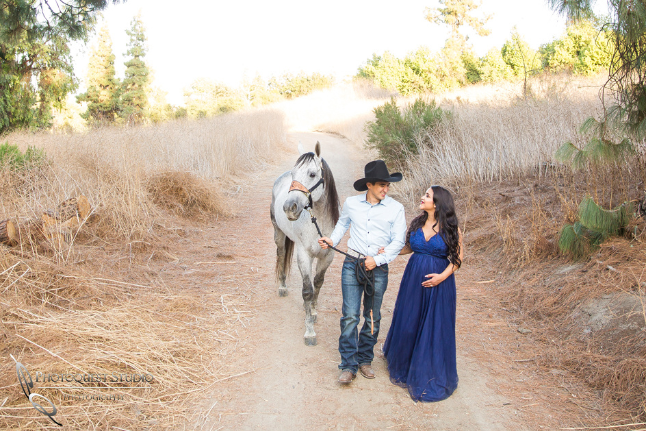 Maternity Photo with Horse by Photoquest Studio, Photography