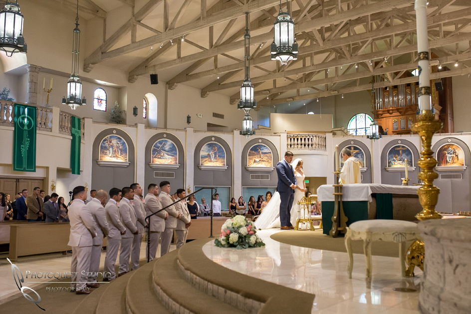 Mexican wedding at St. Denis Catholic Church