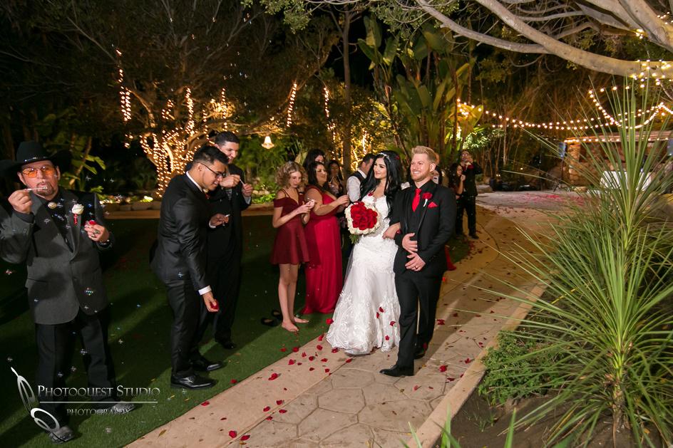 Wedding-exit-at-Paradise-Falls