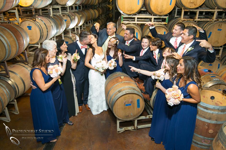 Wedding Photo at Monte De Oro Winery