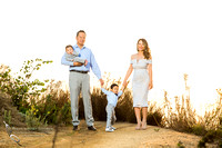 orange county sunset family photo session by Temecula family photographer