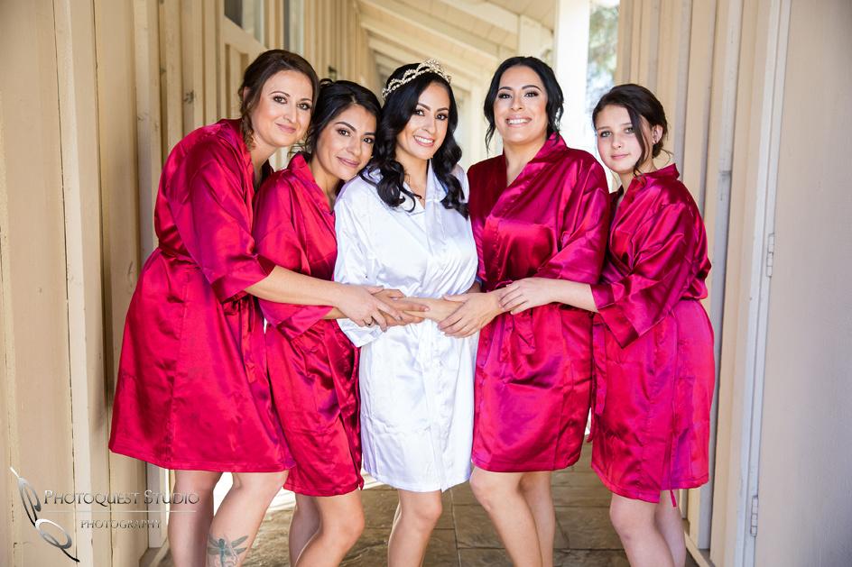 Bride and her girls, Temecula Wedding Photographer