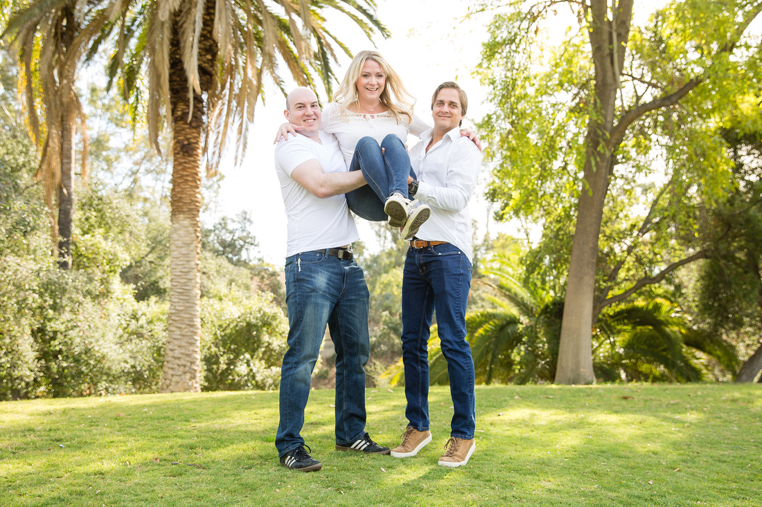Family Photo at Hillcrest Park, Fullerton, Southern California - Emily's Family (48)