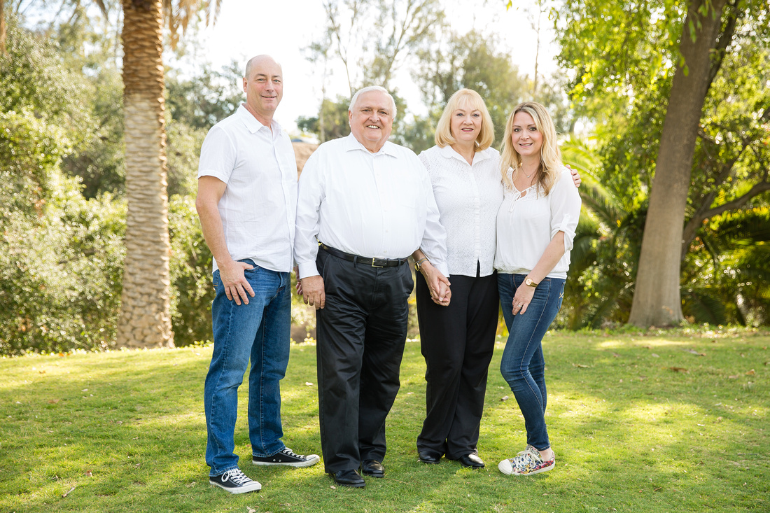 Family Photo at Hillcrest Park, Fullerton, Southern California - Emily's Family (37)