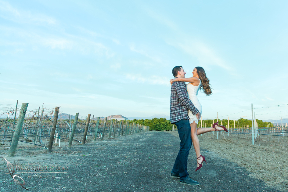 Engagement Photo at Wiens, Temecula Winery Wedding Photographer, Paige and Alex (31)