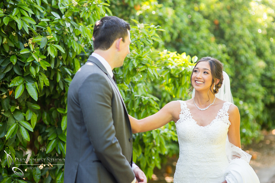 First look, Temecula-Wedding-Photographers
