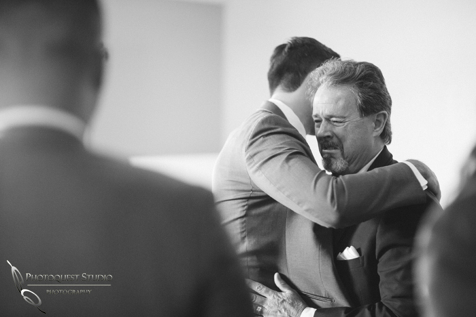 Father cry at Son Wedding by Temecula-Wedding-Photographer