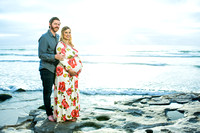 Briana's Maternity Photo at La Jolla Beach, San Diego by Temecula Wedding Photographer-20