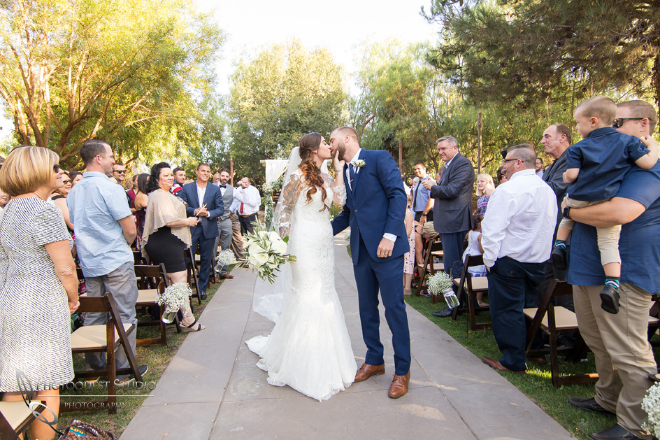 the 2nd kiss at Longshadow ranch, temecula wedding