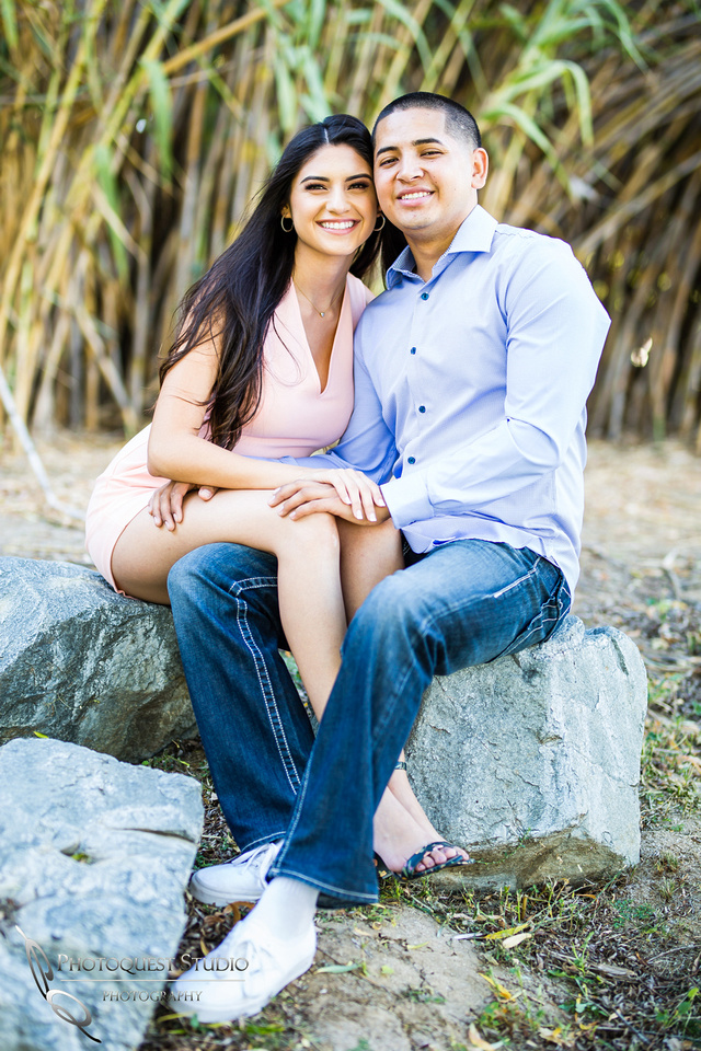 Hawk Ranch engagement photo by Temecula Wedding Photographer