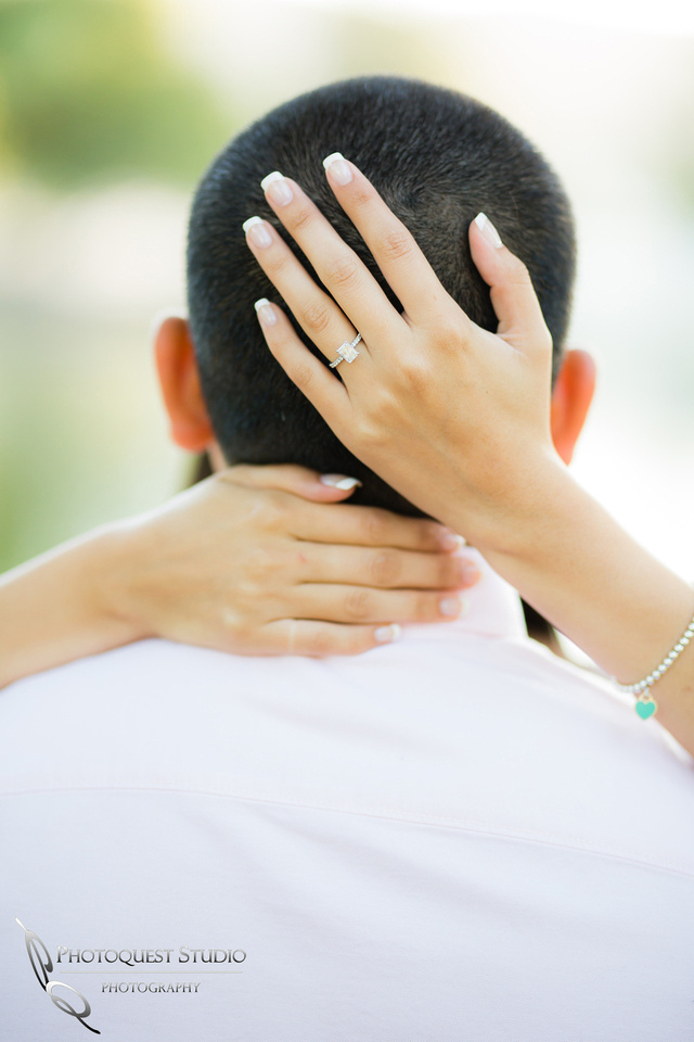 Engagement and the hug of love