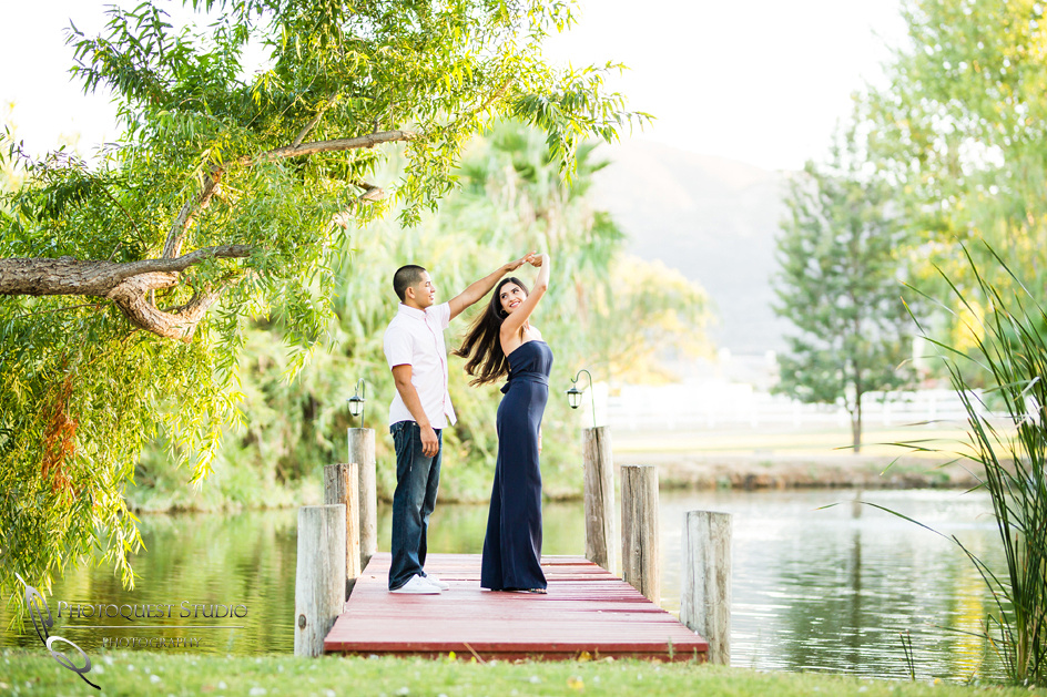Dancing on the dock by Wedding Photographer in Temecula