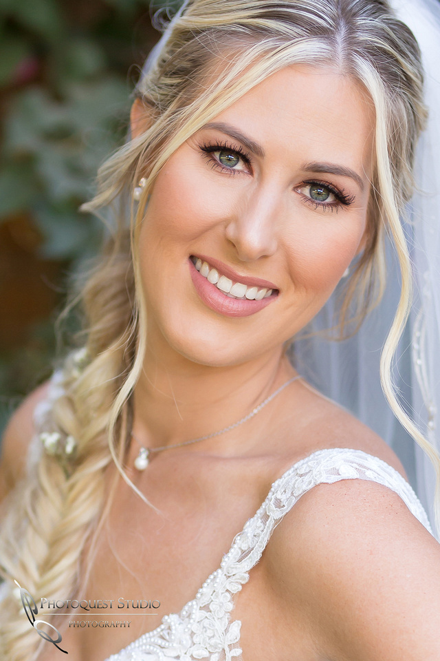 Beautiful face, beautiful Bride