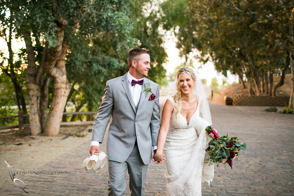 Bride and Groom happy time by wedding photographer in temecula