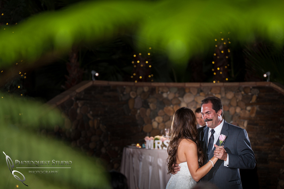 Wedding at Stone Garden, Fallbrook - Father and Daughter Dance