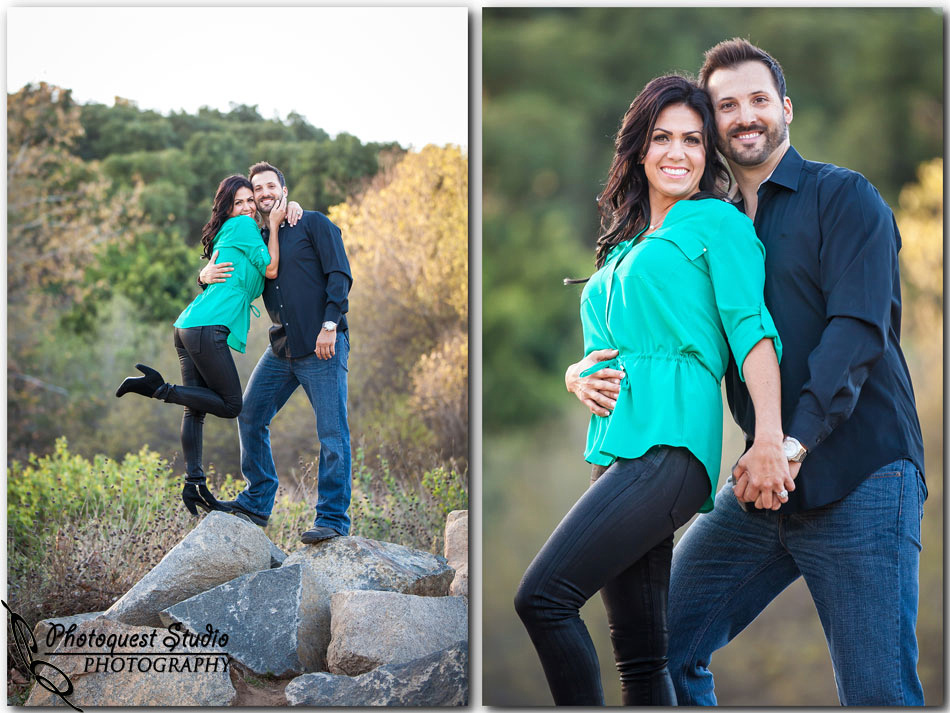 Jessica & Ben Engagement in Fallbrook, Southern California