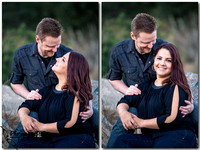 Beautiful Outdoor Engagement photos with Natural Light  by Wedding Photographer in Temecula