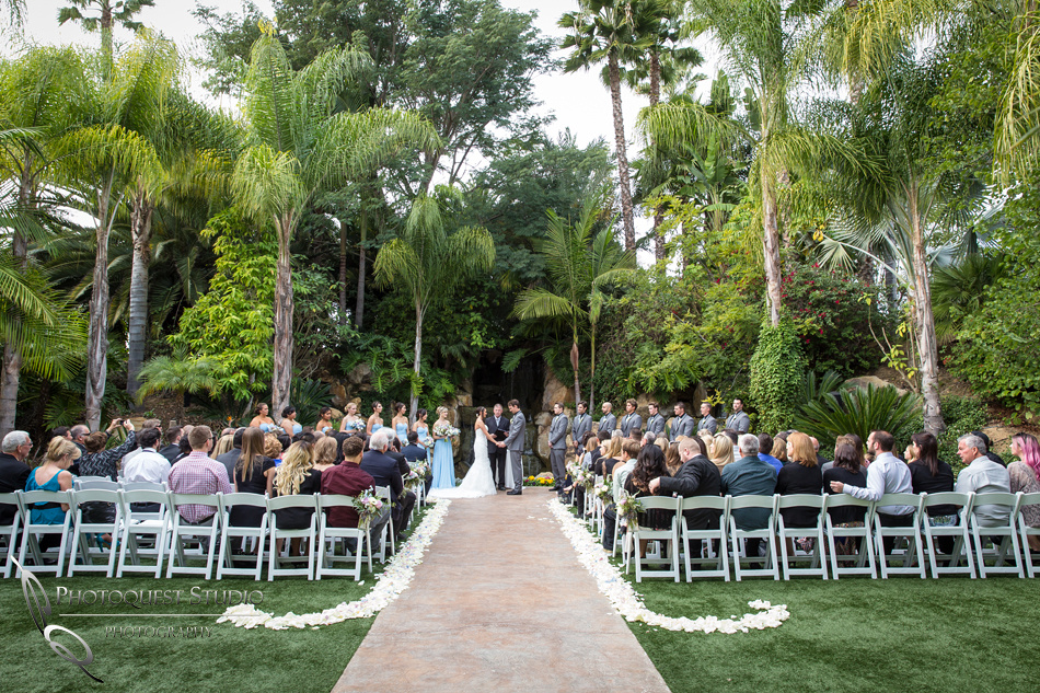 wedding ceremony. Wedding photos at Grand Tradition Estate Fallbrook by Wedding Photographer in Temecula